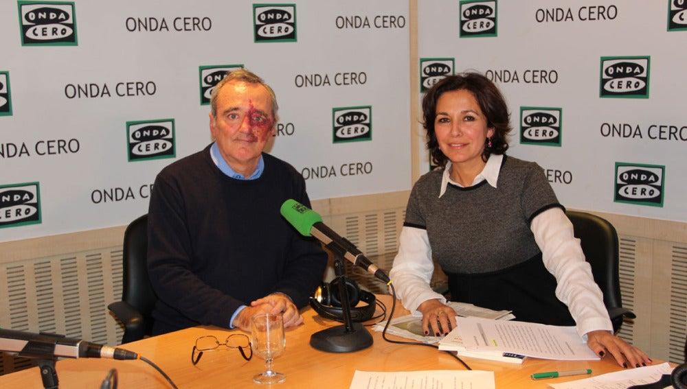 Mariano Barbacid e Isabel Gemio