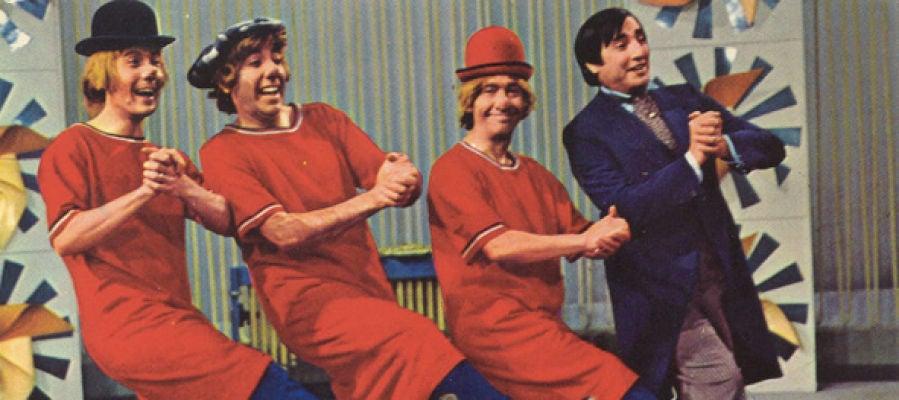 Fofito, Miliki, Fofó y Gaby en 'Los Payasos de la Tele'