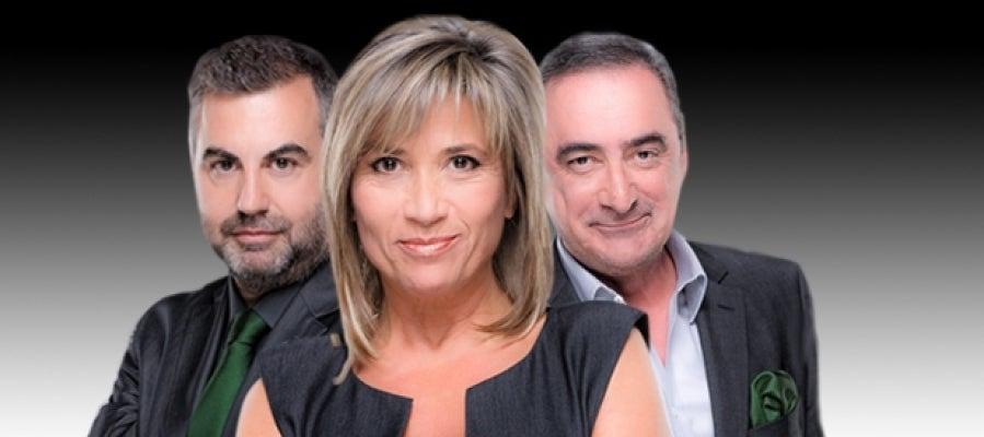 Carlos Alsina, Julia Otero y Carlos Herrera