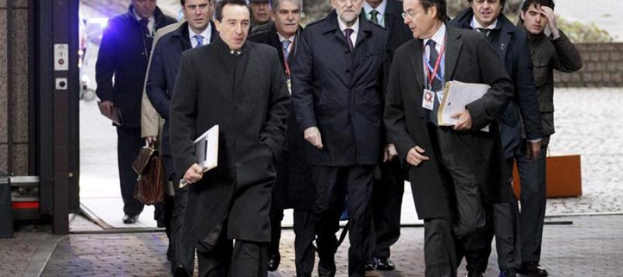 Rajoy, en la cumbre europea de Bruselas