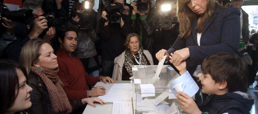 Sánchez Camacho, en las urnas