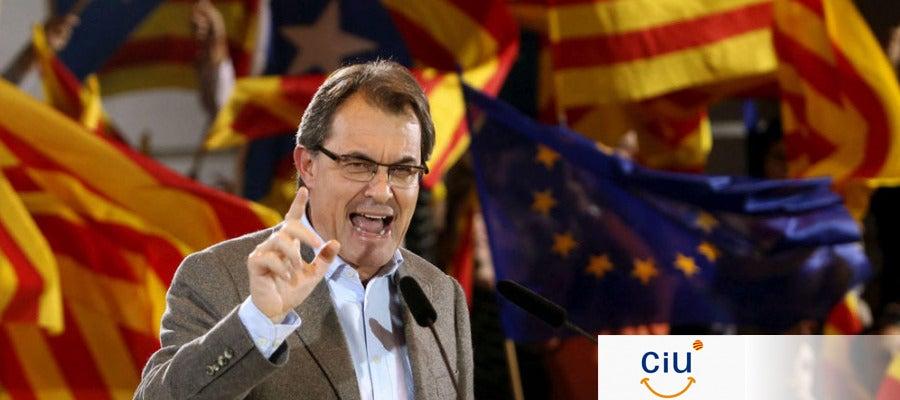 Artur Mas, candidato de CiU