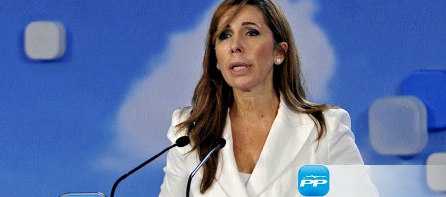 Alicia Sánchez-Camacho, candidata del PP