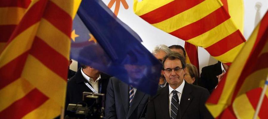 Artur Mas valora los resultados de las elecciones