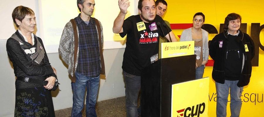 El candidato de CUP, David Fernández