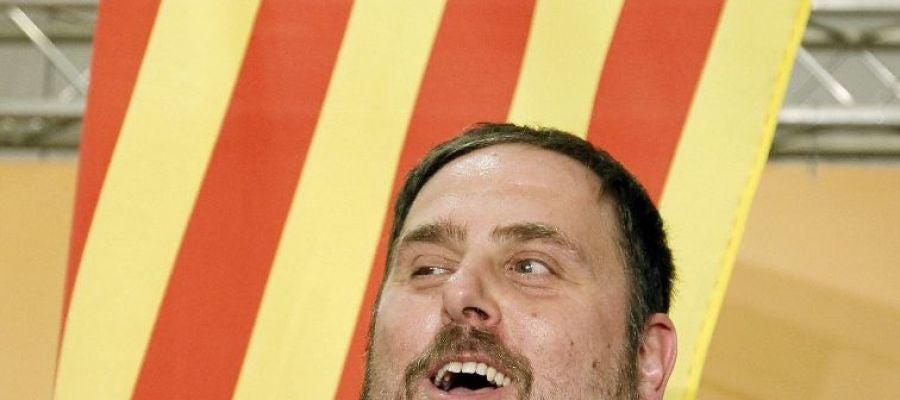 El líder de Esquerra Republicana de Catalunya, Oriol Junqueras