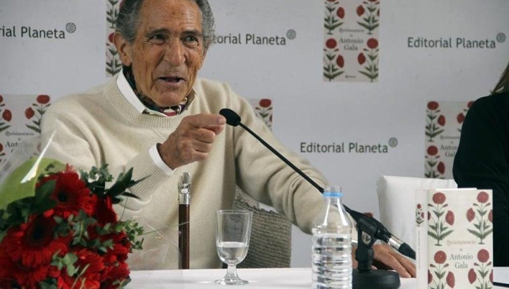 Antonio Gala presenta 'Quintaesencia'