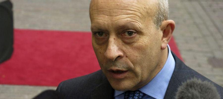 José Ignacio Wert, ministro de Educación