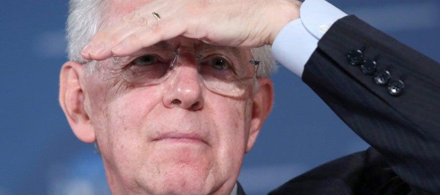 El presidente del Gobierno italiano, Mario Monti