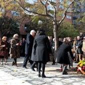 Acto conmemorativo por el atentado en la Casa Cuartel de Zaragoza