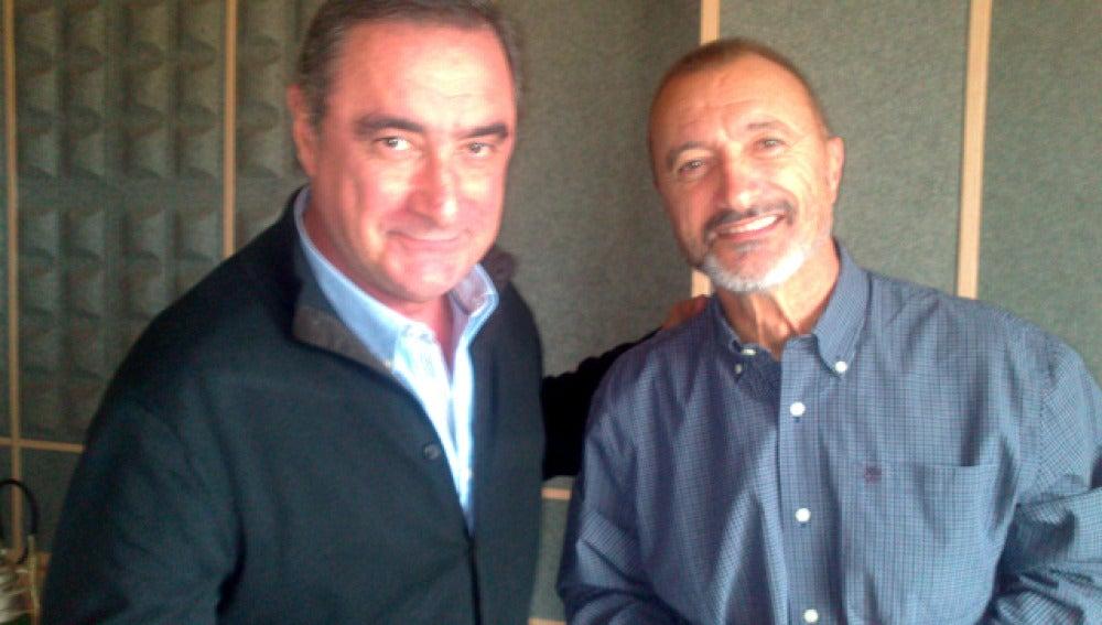 Carlos Herrera y Arturo Pérez Reverte