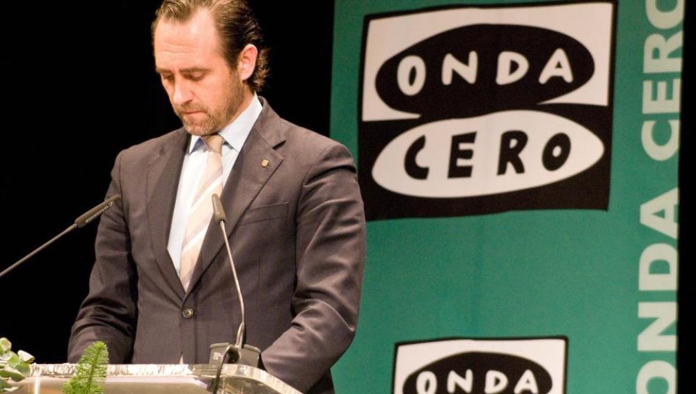 José Ramón Bauzá en una entrega de Premios de Onda Cero Mallorca