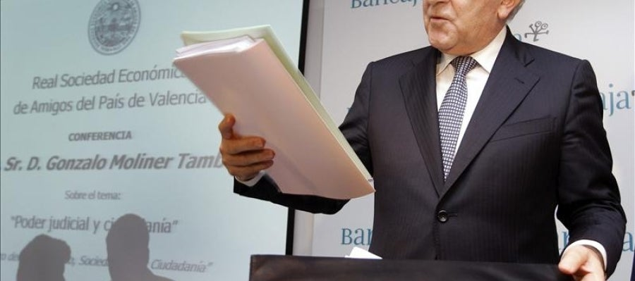 El presidente del Tribunal Supremo y del Consejo General del Poder Judicial (CGPJ), Gonzalo Moliner.