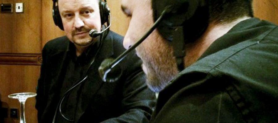 Héctor Fernández y Rafa Benítez en Al Primer Toque