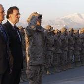 Rajoy visita a las tropas militares en Afganistán (archivo)