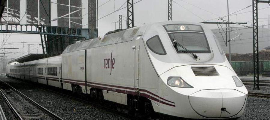 Un tren híbrido Alvia