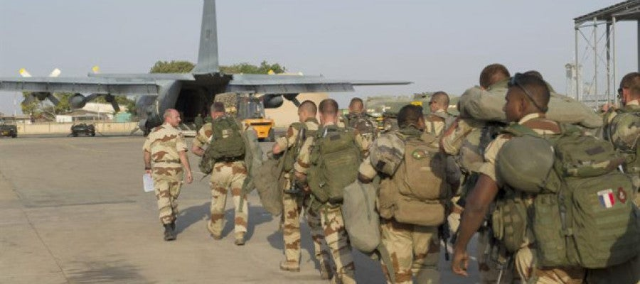 Las tropas francesas llegan a la capital de Mali