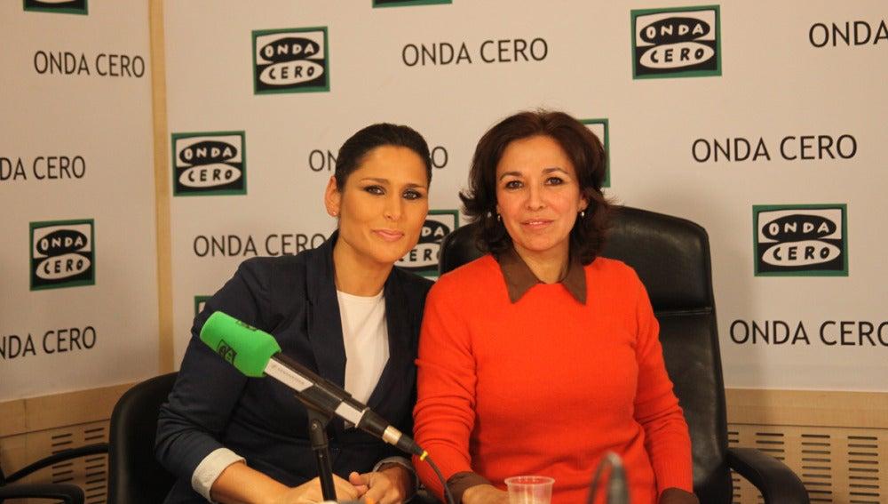 Rosa López e Isabel Gemio
