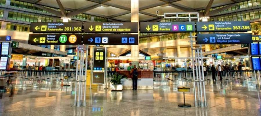 Terminal de un aeropuerto