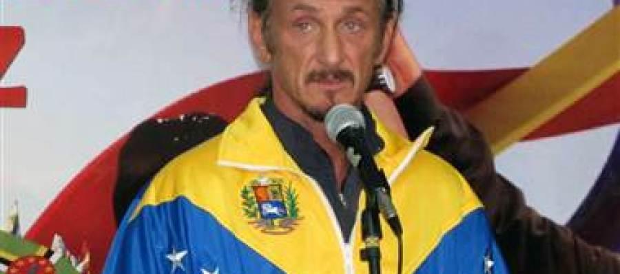 Sean Penn, ferviente seguidor de Hugo Chávez