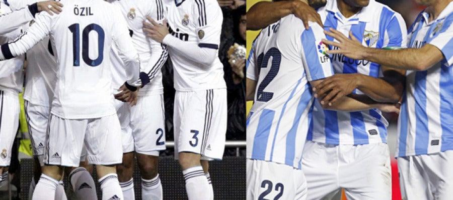 Real Madrid - Borussia y Málaga - Galatasaray