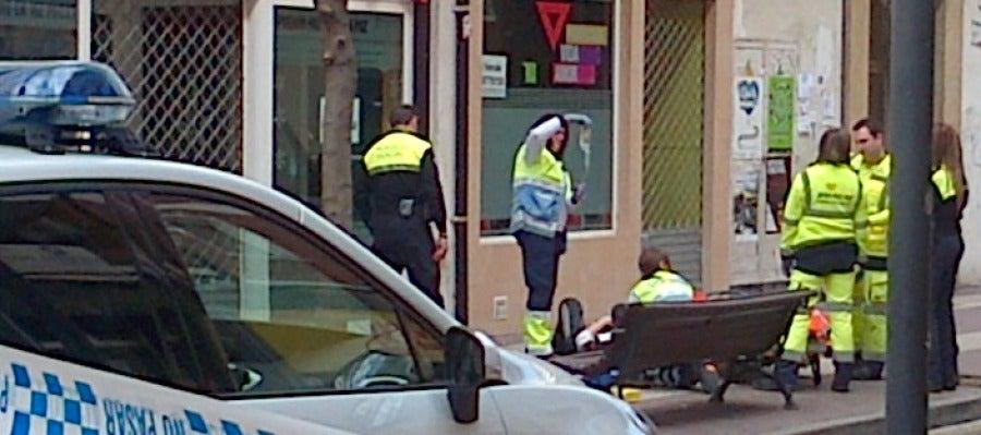 Personal sanitario y policia de Logroño