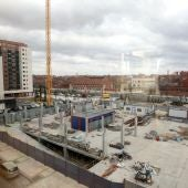 Construcción de viviendas en la carretera Madrid de Valladolid