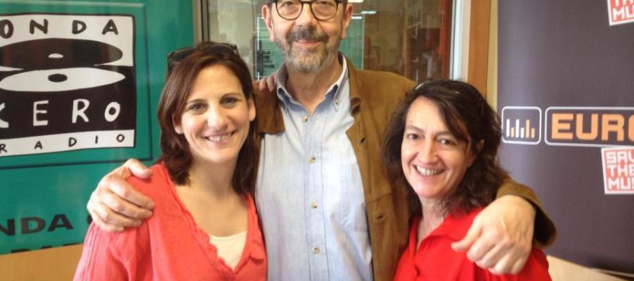 Malena Alterio, Miguel Rellán y Malena Gutiérrez