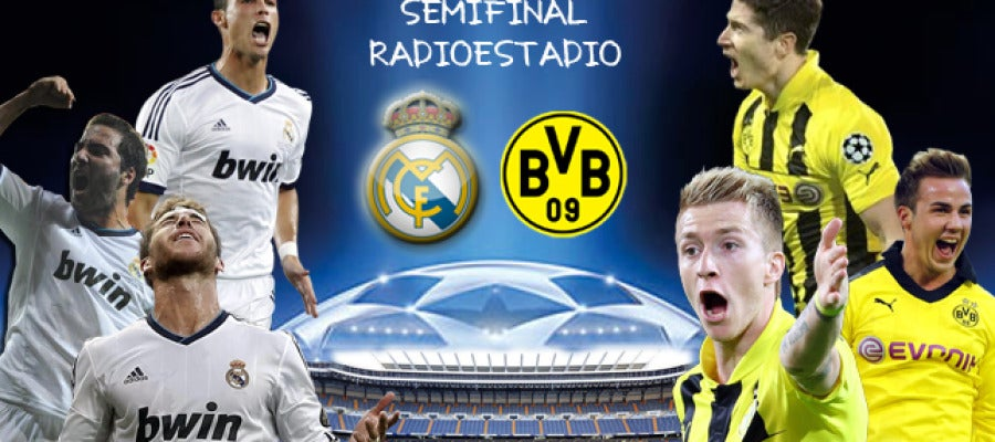 Real Madrid . Borussia Dortmund