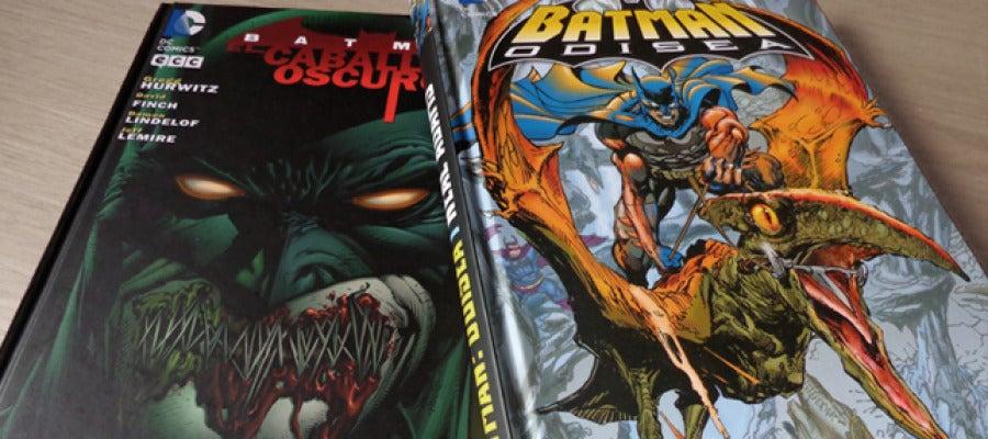 Portadas de Batman: Odisea y Ciclo de violencia.