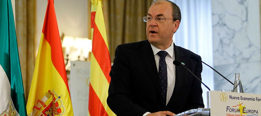 Monago ha pedido a los catalanes que dirijan sus críticas a Andalucía.