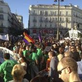 Manifestación por el segundo aniversario del 15-M