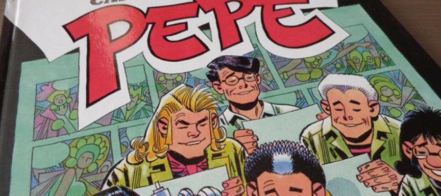 Portada del segundo volumen de Pepe editado por Panini