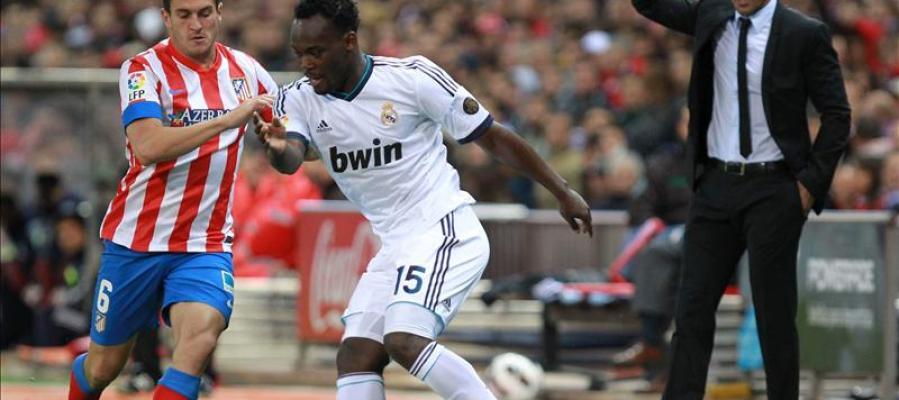 Derbi entre el Real Madrid y el Atlético