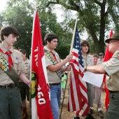 Grupo de Boy Scouts en Estados Unidos