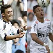 Ozil y Neymar