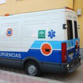 Una ambulancia de Andalucía