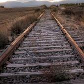 Vía de tren