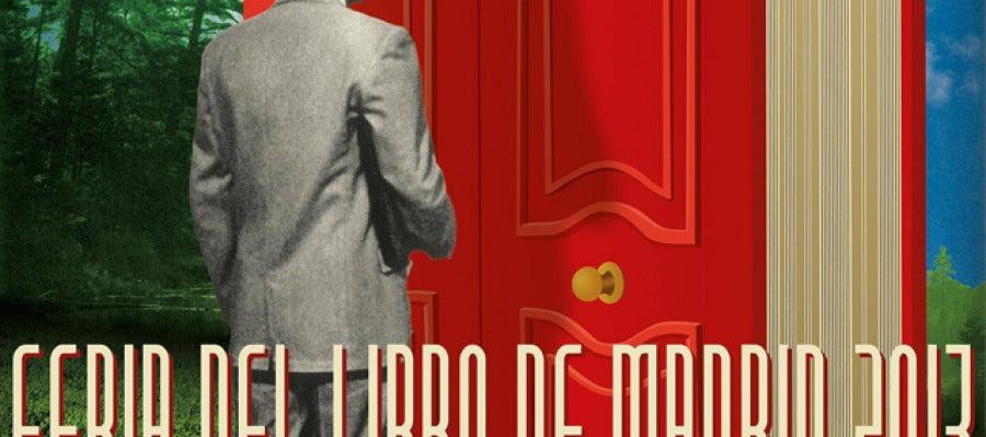 Cartel de la feria del libro de Madrid