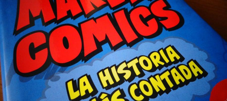 Portada de 'Marvel Comics. La historia jamás contada' que edita Panini Books