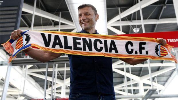 """Miroslav Djukić: """"Ha sido un encuentro precioso recordando los viejos tiempos en Mestalla"""""""