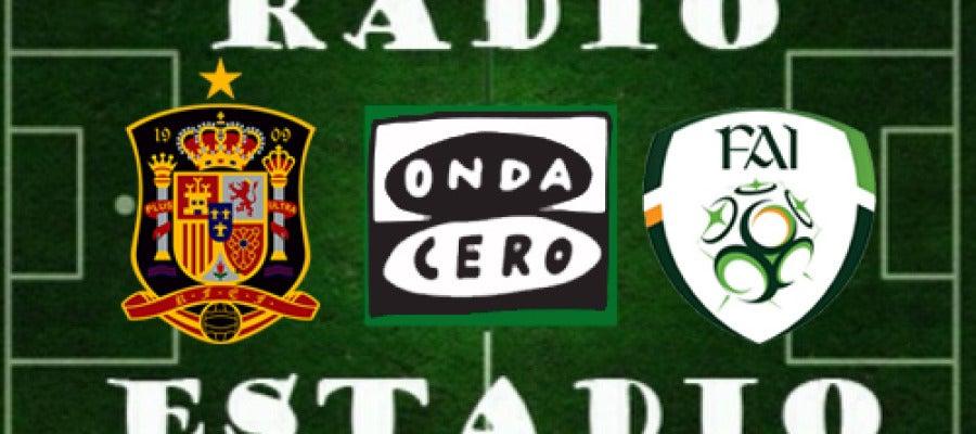 España - Irlanda en Radioestadio