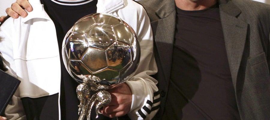 Messi y su padre, Jorge Horacio Messi