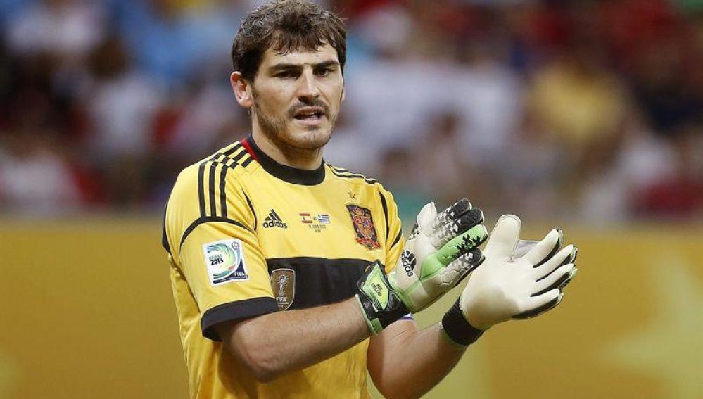 Iker Casillas recupera sensaciones de titular gracias a la selección española