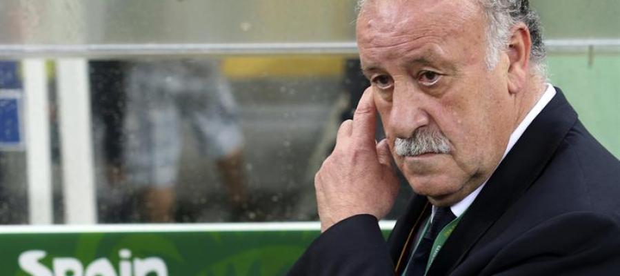El seleccionador español, Vicente del Bosque
