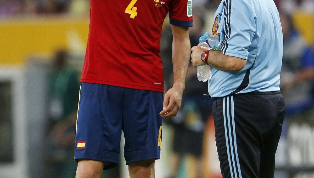Javi Martínez con la Selección