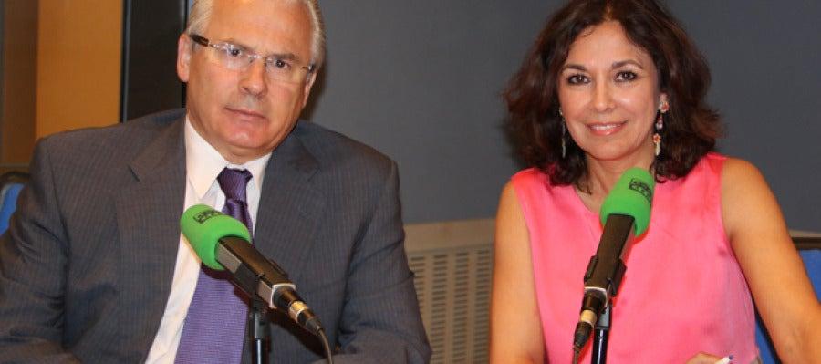Baltasar Garzón e Isabel Gemio
