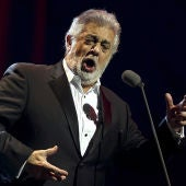 El tenor Plácido Domingo