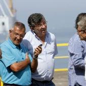 Trabajadores del astillero Vulcano de Vigo