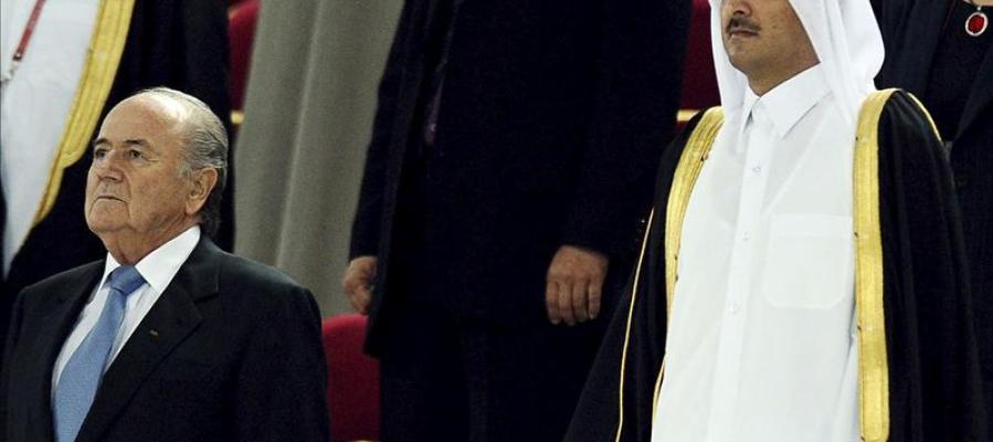 Blatter desea ahora que el Mundial 2022 de Catar se juegue en invierno